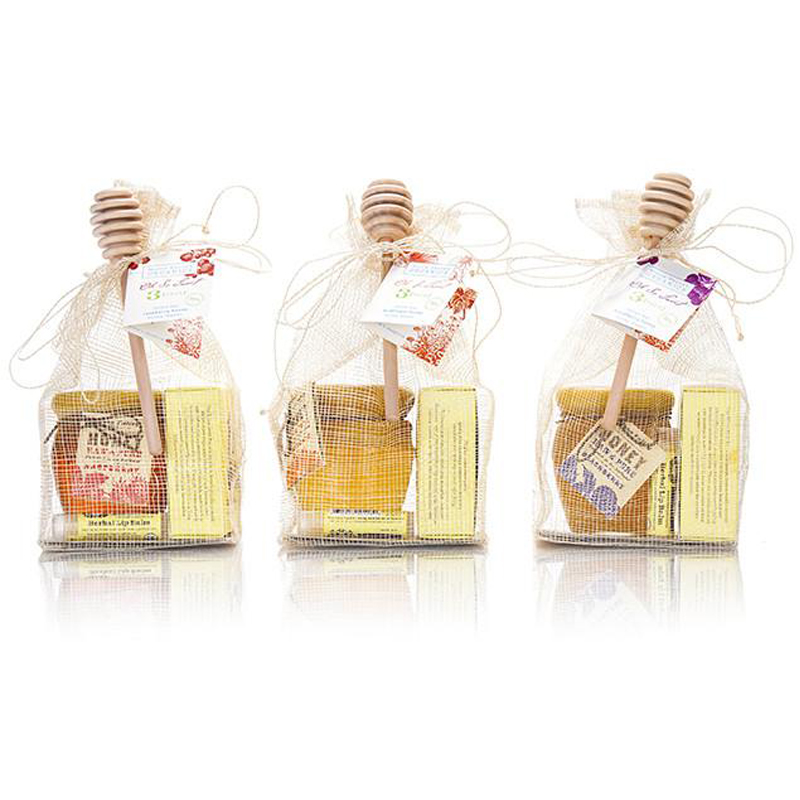 "EarthHero - ""Save the Bees"" Honey Pot Organic Skin Care Bundle  - 1"