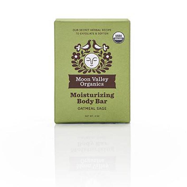 EarthHero - Oatmeal Sage Cold Process Organic Soap Bar - 1