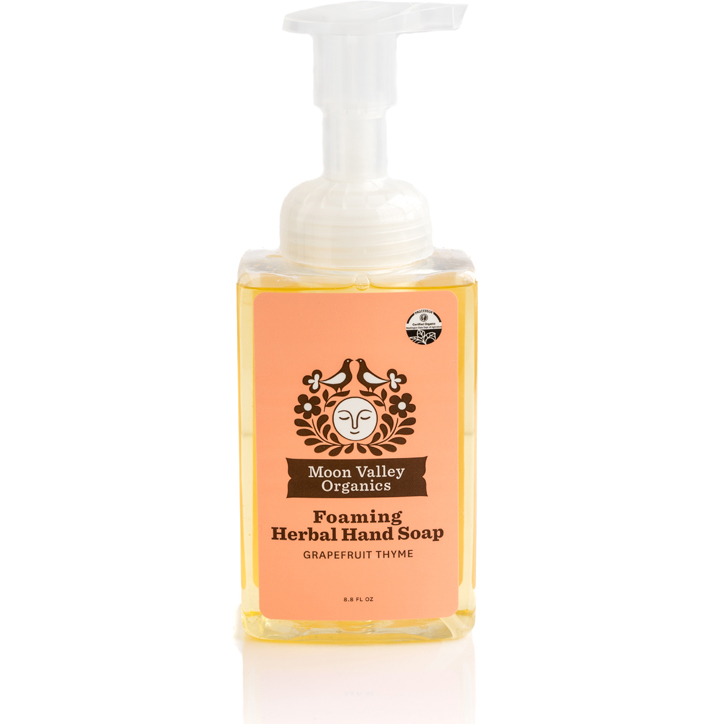 EarthHero - Grapefruit Thyme Foaming Liquid Organic Soap - 1