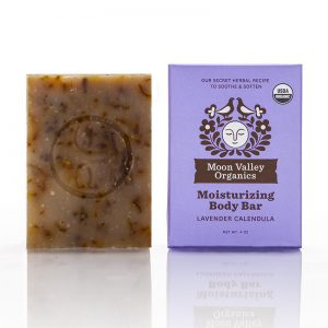 EarthHero - Lavender Calendula Cold Process Organic Soap Bar - 1