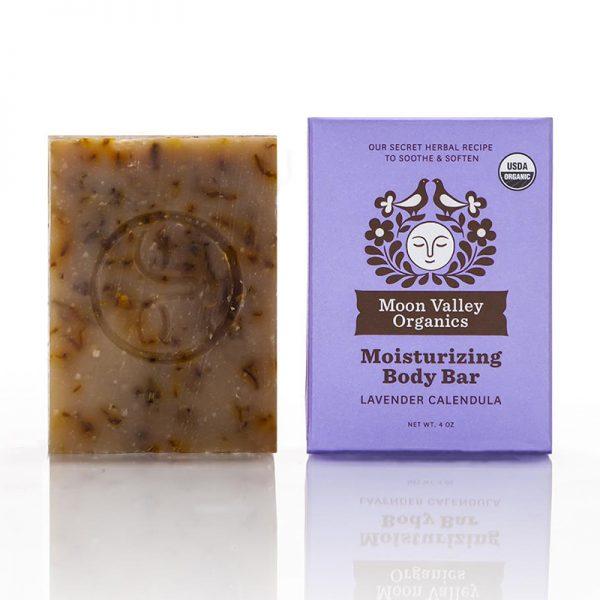 EarthHero - Lavender Calendula Cold Process Organic Soap Bar - 1