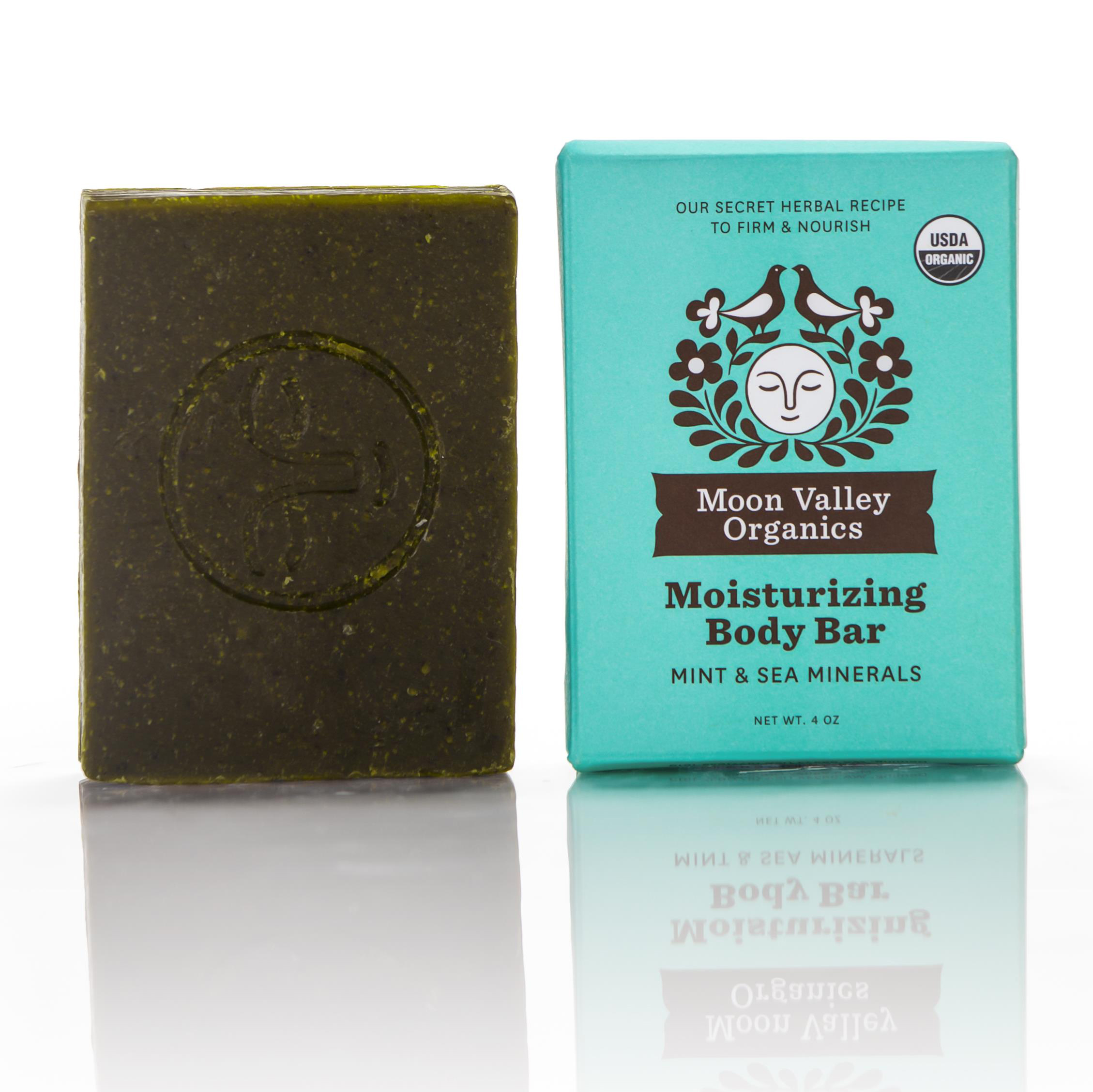 EarthHero - Mint + Sea Mineral Cold Process Organic Soap Bar - 1
