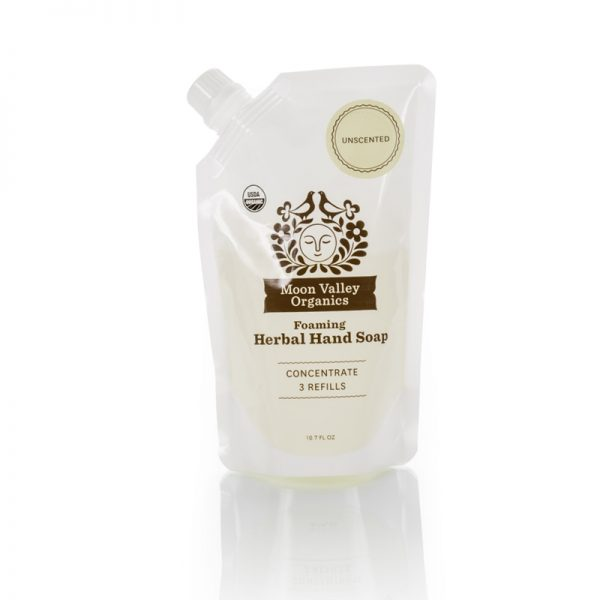 EarthHero - Unscented Foaming Liquid Organic Soap Refill Pouch - 1