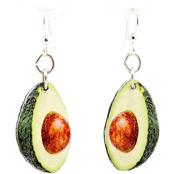 EarthHero - Avocado Gifts Wooden Earrings 1