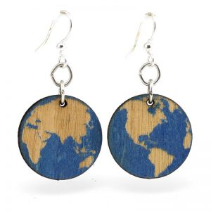 EarthHero - Earth Wooden Earrings 1