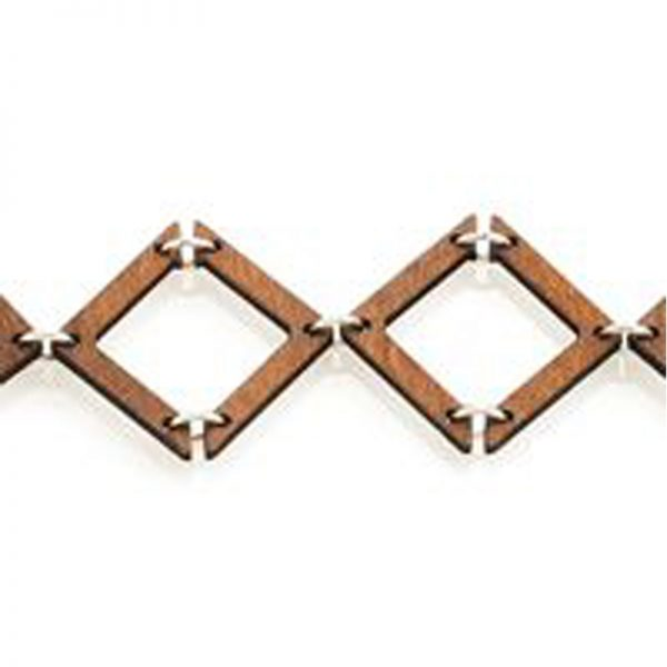 EarthHero - Half Triangle Wooden Bracelet 1