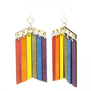 EarthHero - Pride Wooden Earrings 1