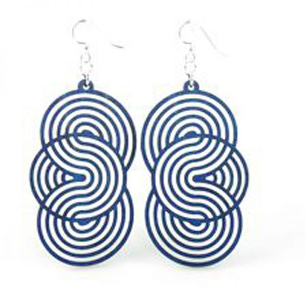 EarthHero - Seamless Circle Wooden Earrings 1