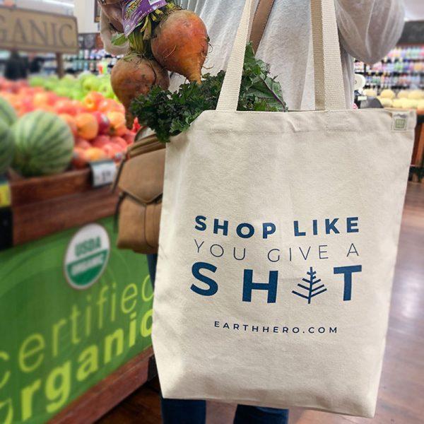 EarthHero - Shop Like You Give A Sh*t Rusable Shopping Bag - 3
