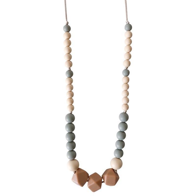 EarthHero - Greyson Silicone Teething Necklace - 1