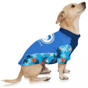 EarthHero - Sun Protection Dog Rash Guard - UPF 50+ - 1