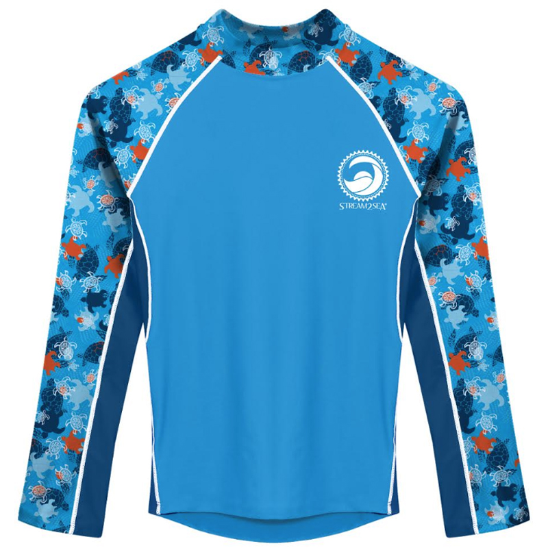 EarthHero - Sun Protection Kids Rash Guard - UPF 50+ - 1