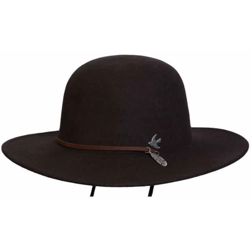 EarthHero - Bird and Feather Wool Hat - 1