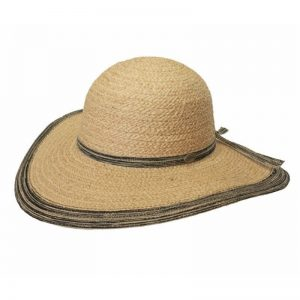 EarthHero - Lake May Wide Brimmed Raffia Sun Hat - 1