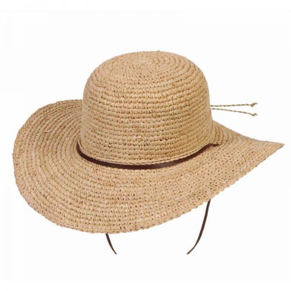EarthHero - Tuscany Wide Brimmed Raffia Sun Hat - 1