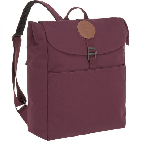 EarthHero - Adventure Diaper Backpack - Burgundy