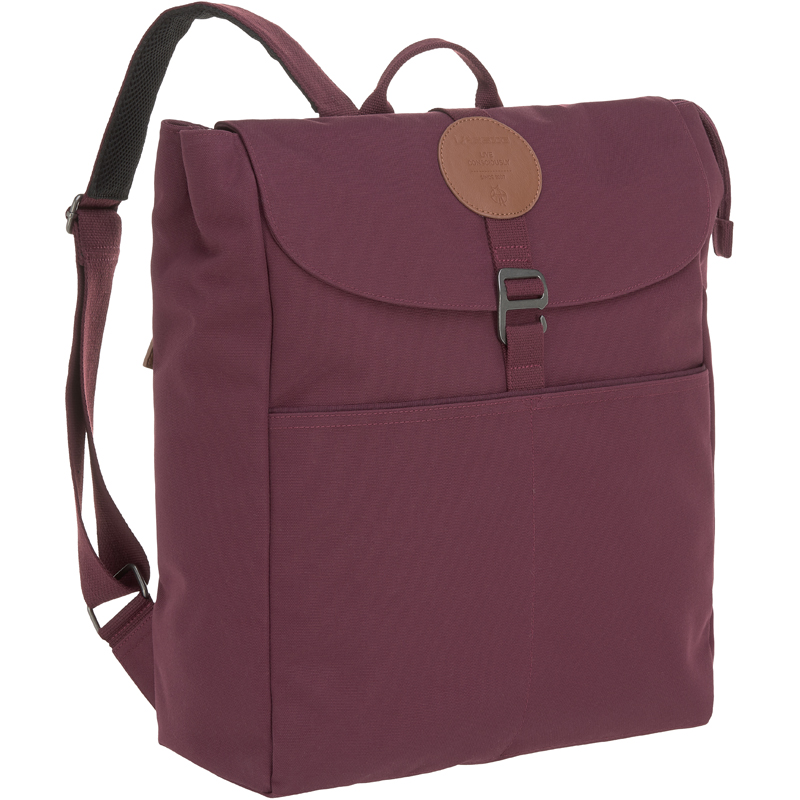 EarthHero - Adventure Diaper Backpack - Burgundy