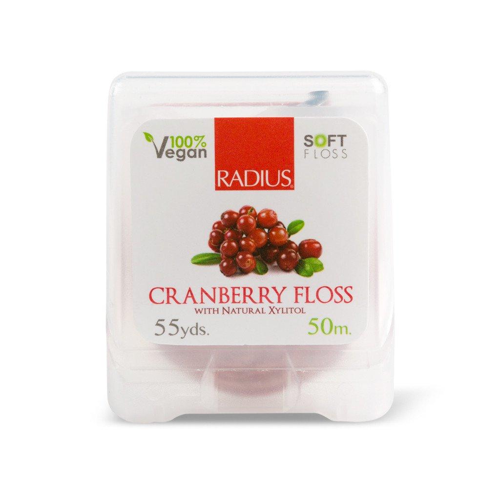 EarthHero - Cranberry Xylitol Vegan Floss 55yds - 2