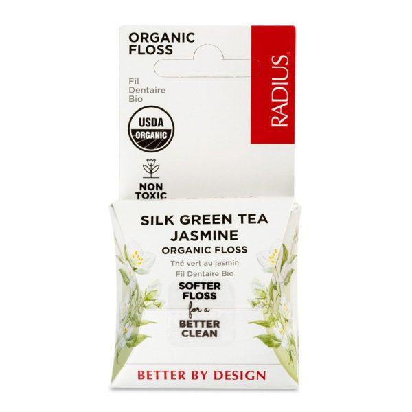 EarthHero - Green Tea Jasmine Vegan Floss 55yds - 1