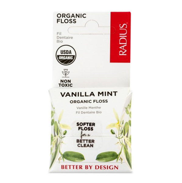 EarthHero - Vanilla Mint Vegan Floss 55yds - 1