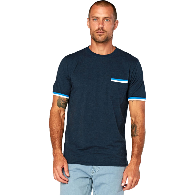 EarthHero - Men's Tri Blend Shirt Pocket Tee - 1
