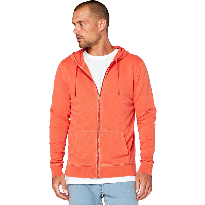 EarthHero - Men's Levi Zip Up Organic Cotton Hoodie  - 1