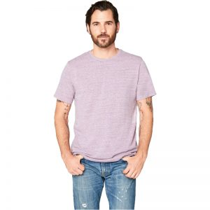 EarthHero - Men's Crew Neck Tri Blend Shirt - 1