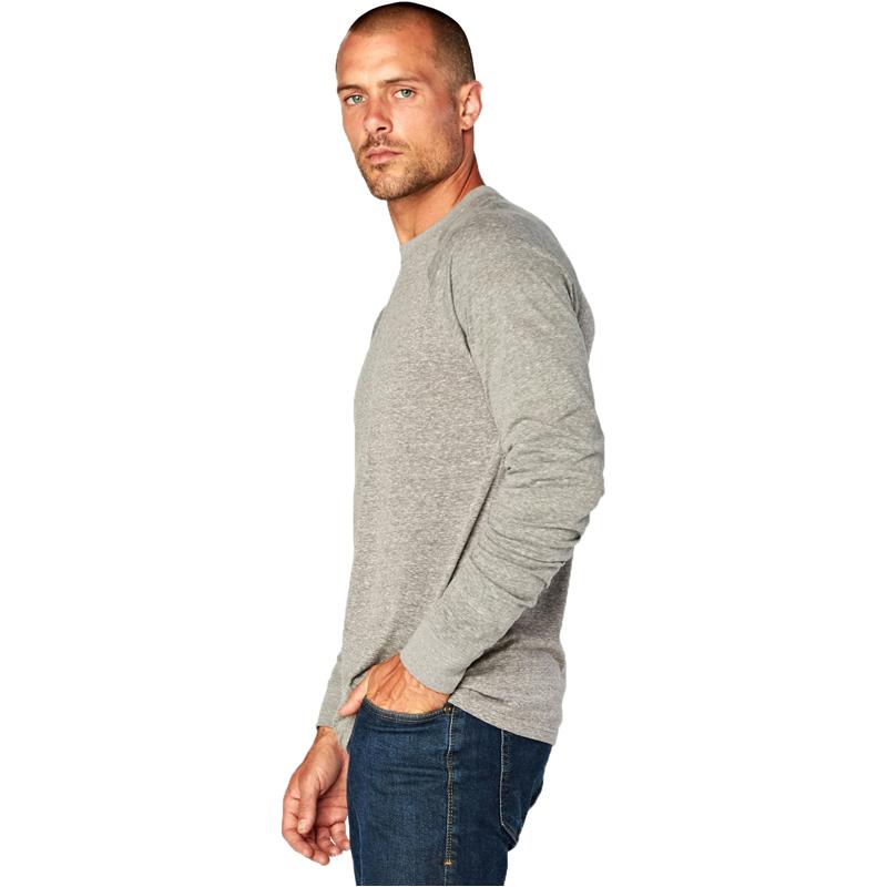 EarthHero - Men's Raglan Longsleeve Tri Blend Shirt - 2