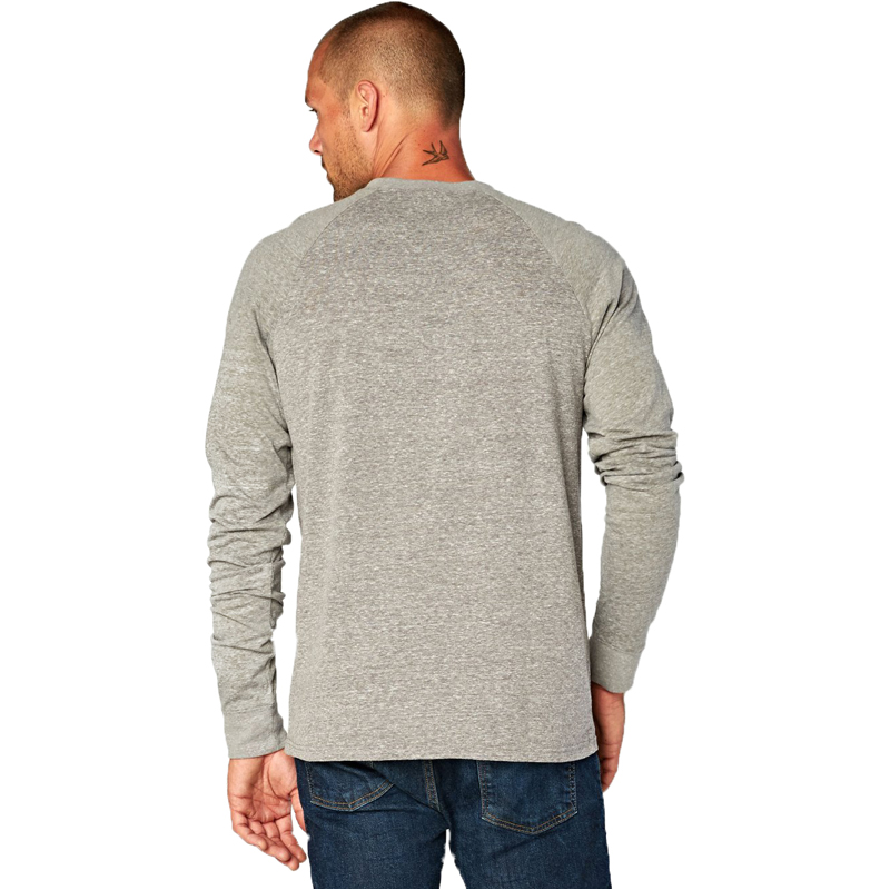 EarthHero - Men's Raglan Longsleeve Tri Blend Shirt - 3
