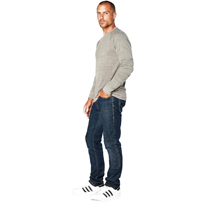 EarthHero - Men's Raglan Longsleeve Tri Blend Shirt - 4