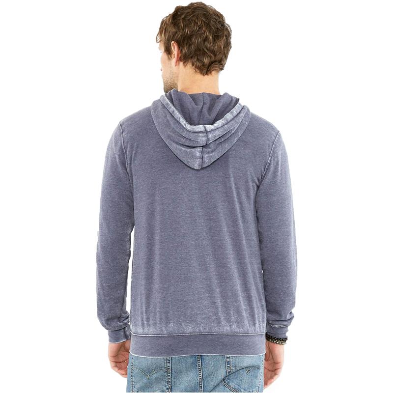 EarthHero - Men's Triblend Zip Up Fleece Hoodie - 2