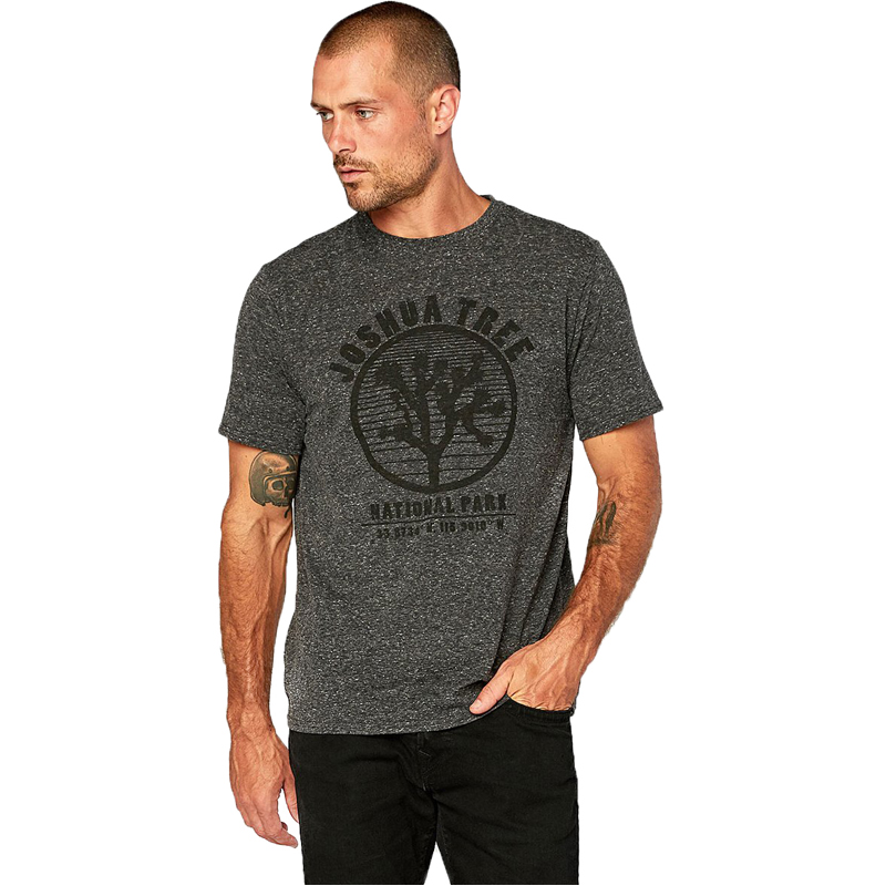 EarthHero - Men's Graphic Joshua Tree Tri Blend Shirt  - 1
