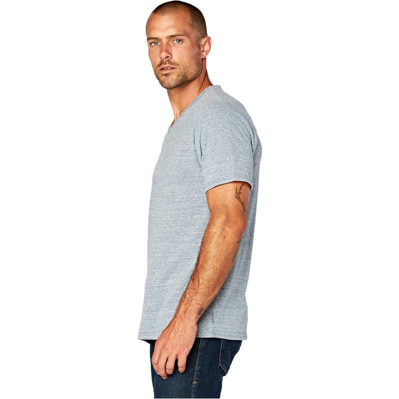 EarthHero - Men's V-Neck Tri Blend Shirt - 2