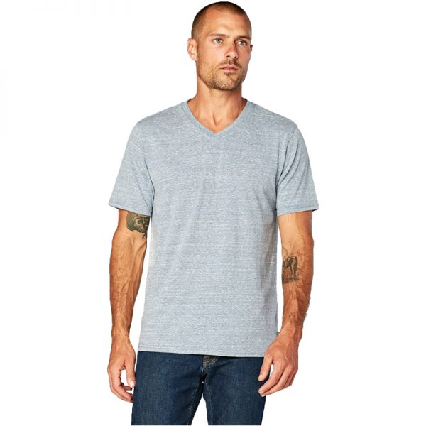 EarthHero - Men's V-Neck Tri Blend Shirt - 1