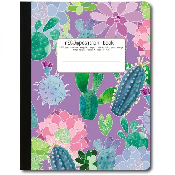 EarthHero - Cactus Attitude Recycled Composition Notebook - 1
