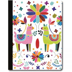 EarthHero - Colorful Llamas Recycled Composition Notebook - 1