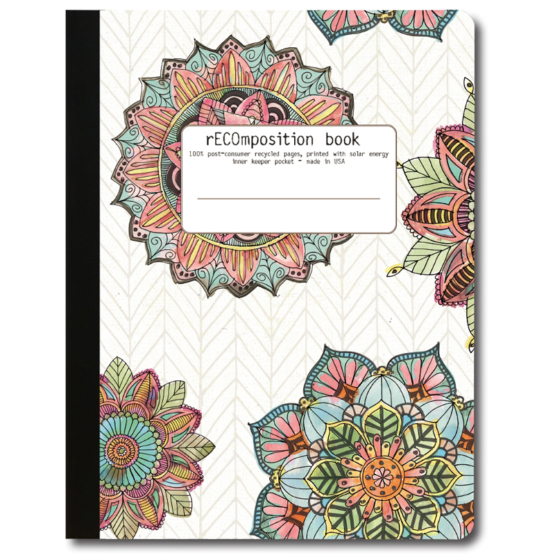 EarthHero - Mandala Morning Recycled Composition Notebook - 1