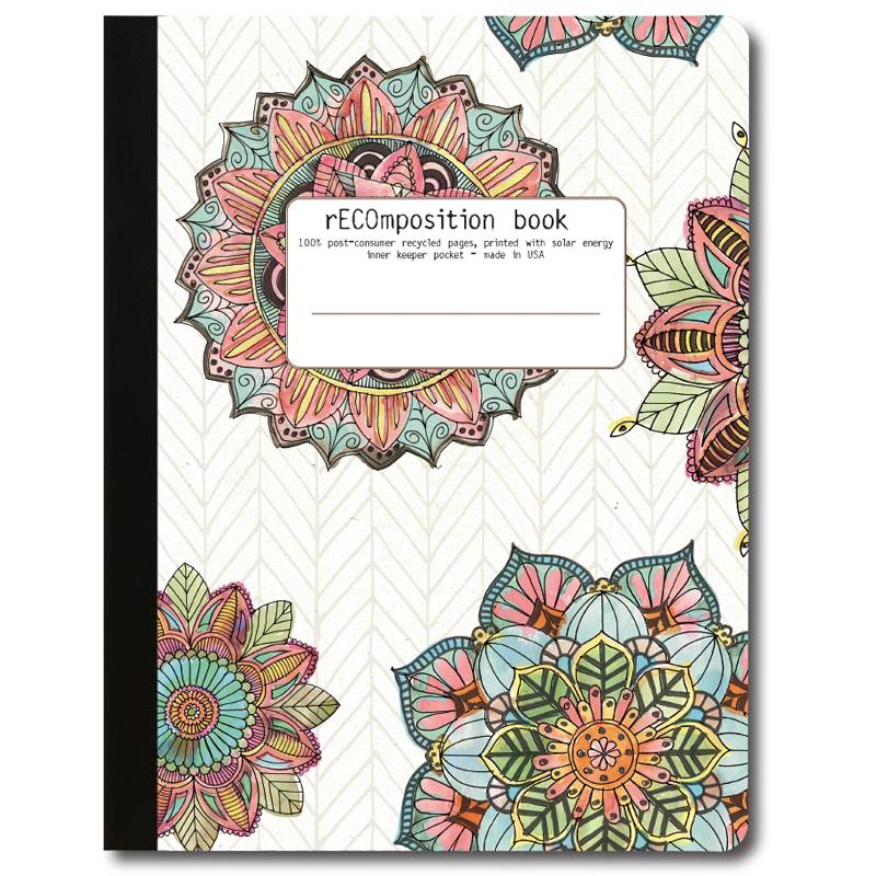 EarthHero - Mandala Morning Recycled Composition Notebook - 1