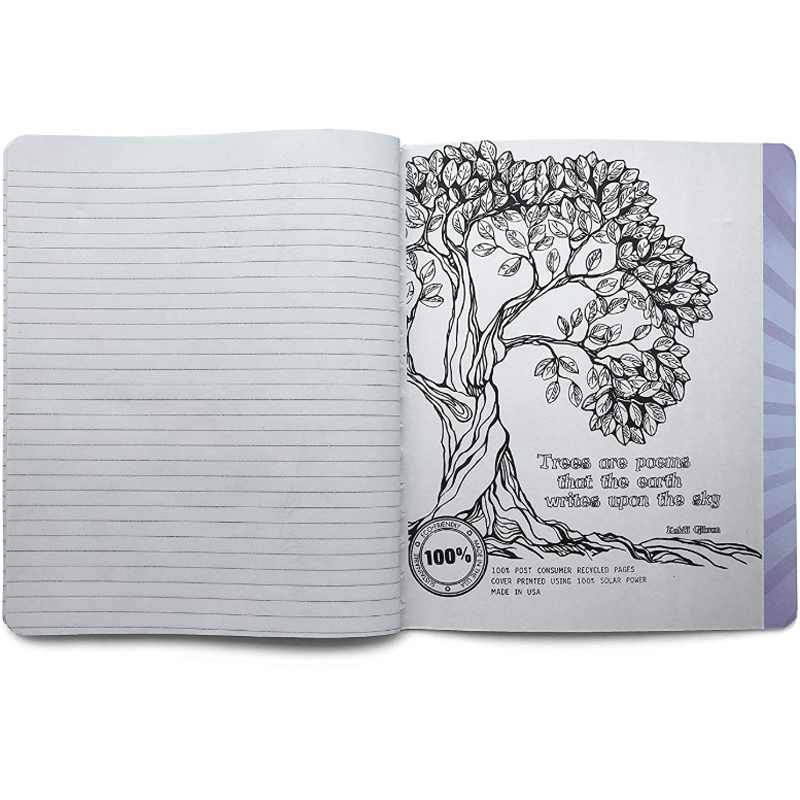 EarthHero - Cactus Flower Recycled Composition Notebook - 2