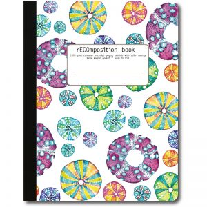 EarthHero - Sea Urchin Recycled Composition Notebook - 1