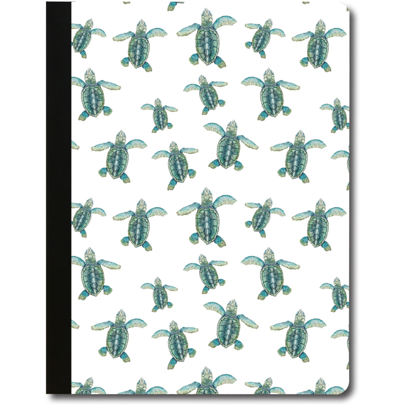 EarthHero - Turtle Repeat Recycled Composition Notebook - 1