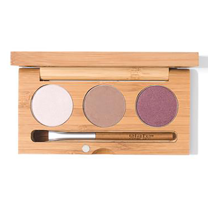 EarthHero - Aerial Pressed Natural Eyeshadow Trio - 1