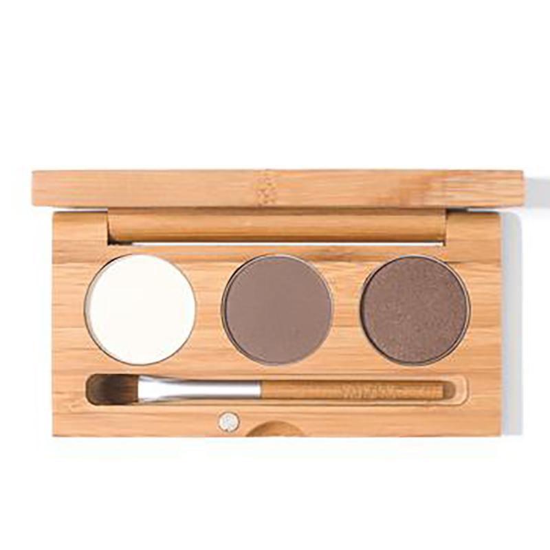 EarthHero - Lumen Pressed Natural Eyeshadow Trio - 1