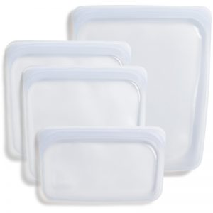 EarthHero - Reusable Silicone Stasher Bags Assorted 4pk - 1