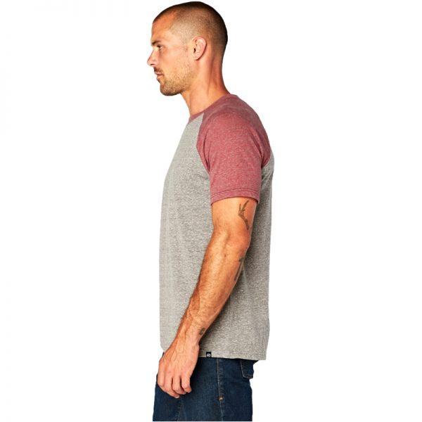 EarthHero - Men's Two-Tone Raglan Tri Blend Shirt - 2