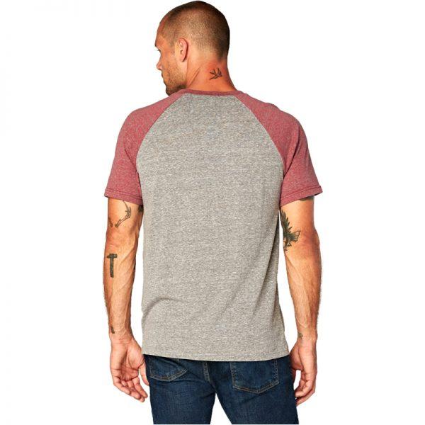 EarthHero - Men's Two-Tone Raglan Tri Blend Shirt - 3