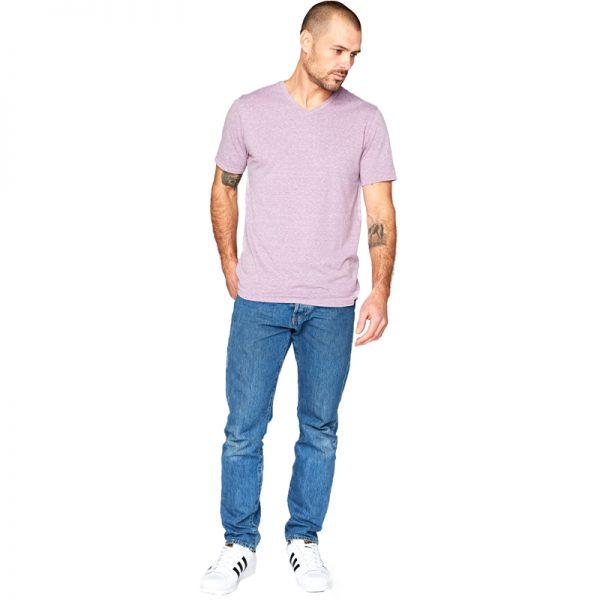 EarthHero - Men's Crew Neck Tri Blend Shirt - 4