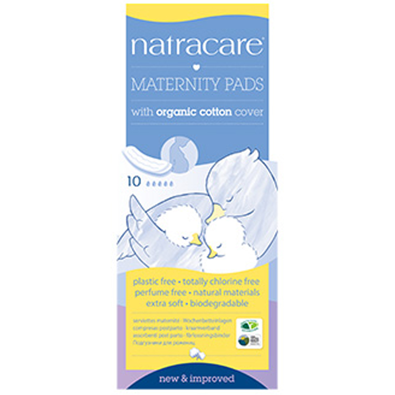 EarthHero - Natural Maternity Pads - 10pk - 1