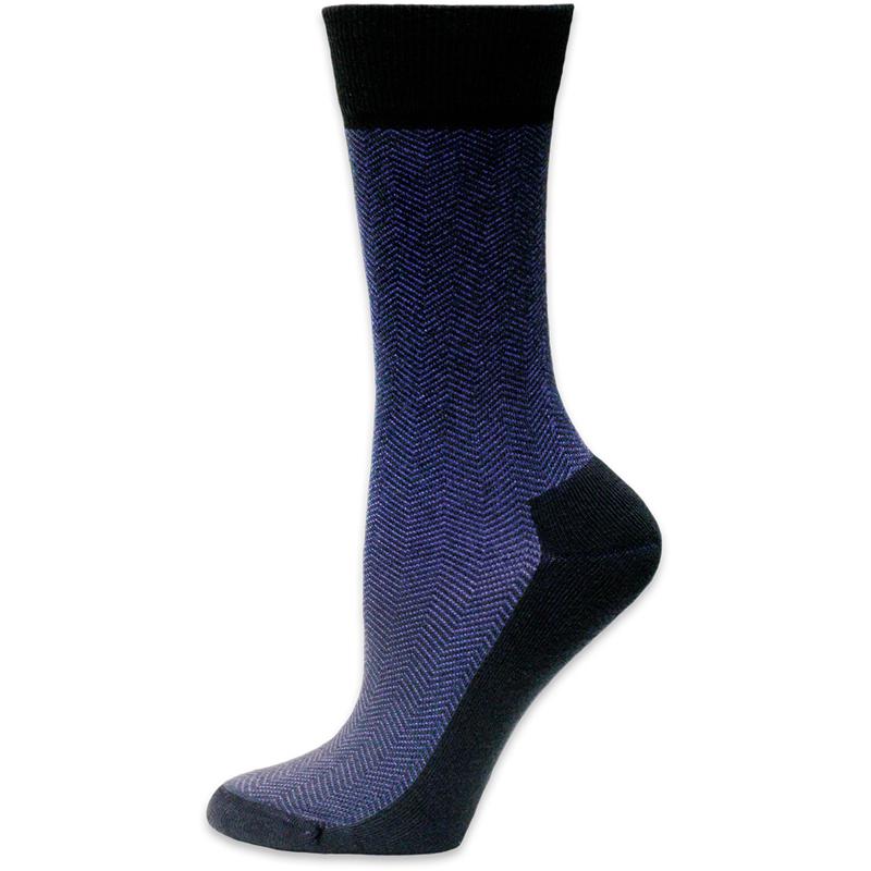 EarthHero - Organic Cotton Cushioned Dress Socks - Black
