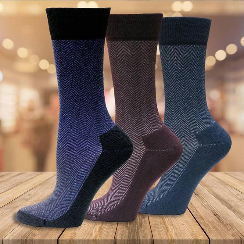 EarthHero - Organic Cotton Cushioned Dress Socks 2